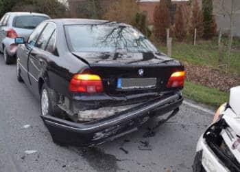 Autounfall Enger 17.02.2020