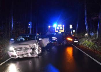 Autounfall Herford 24.02.2020