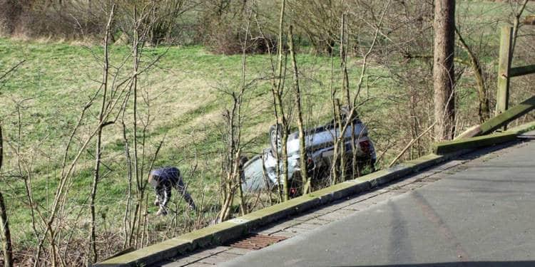 Autounfall Petershagen 17.02.2020
