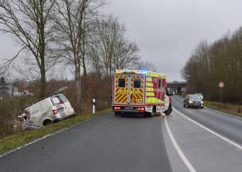 Autounfall Rödinghausen 03.02.2020