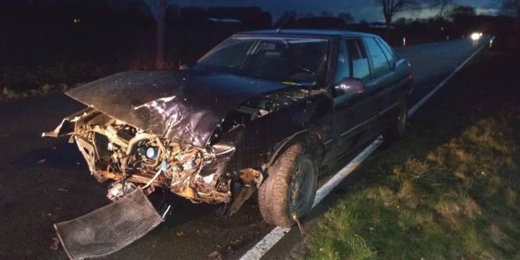 Autounfall Stemwede 11.02.2020