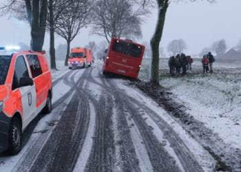 Busunfall Büren 26.02.2020