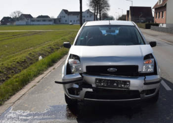 Autounfall Bünde 27.03.2020