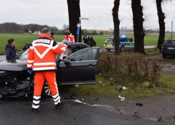 Autounfall Löhne 10.03.2020
