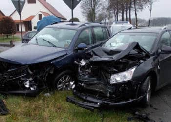 Autounfall Stemwede 08.03.2020