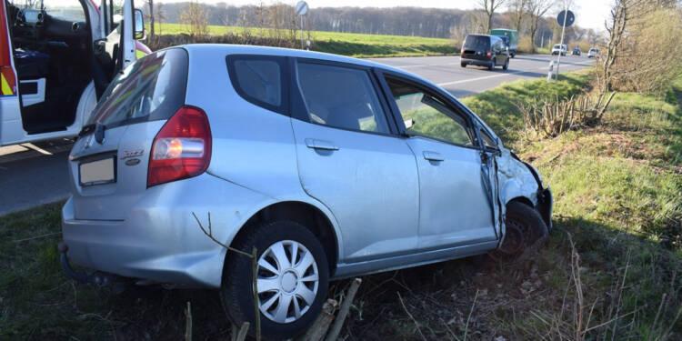 Autounfall Herford 06.04.2020