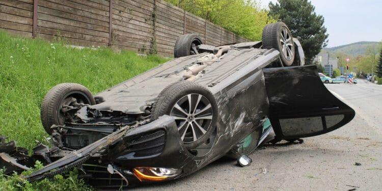 Autounfall Lübbecke 18.04.2020