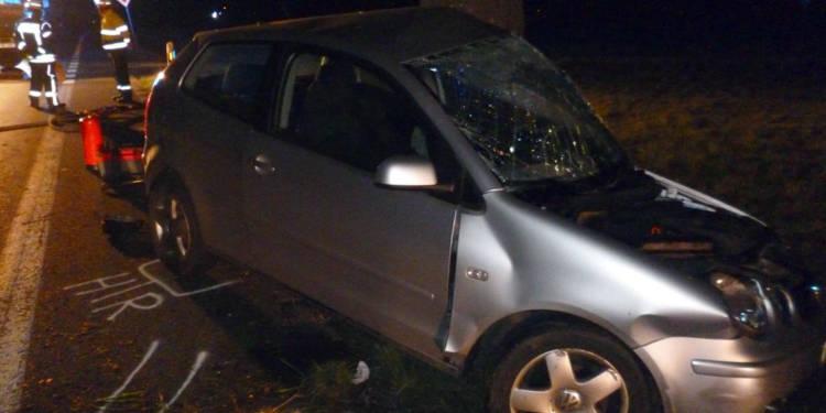 Autounfall Lübbecke 31.03.2020