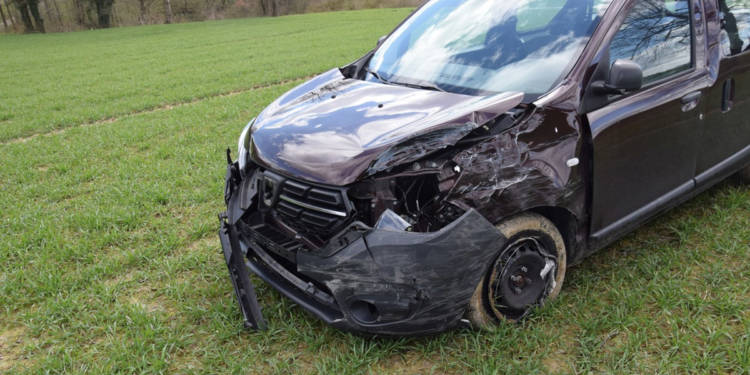 Autounfall Vlotho 31.03.2020