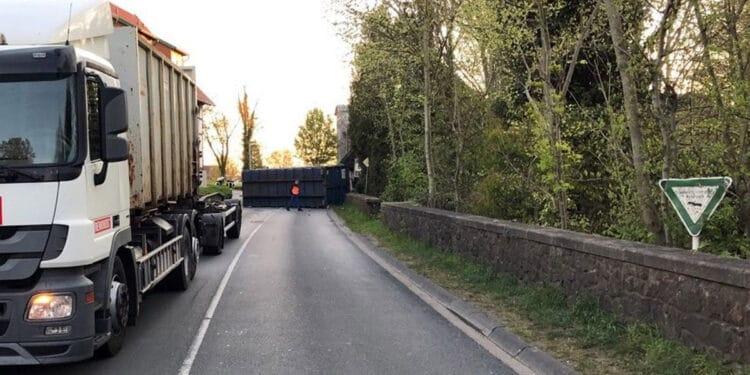 LKW-Unfall Preußisch Oldendorf 20.04.2020
