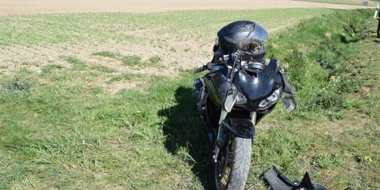 Motorrad-Unfall Vlotho 19.04.2020
