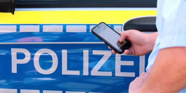Smartphones Polizei