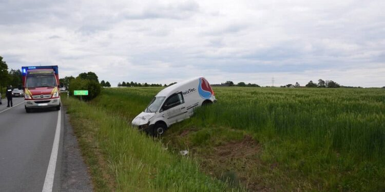 Autounfall Enger 12.05.2020