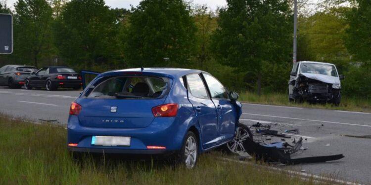 Autounfall Herford 01.05.2020