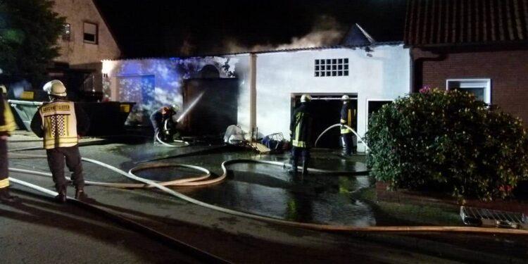 Brand Petershagen 10.05.2020