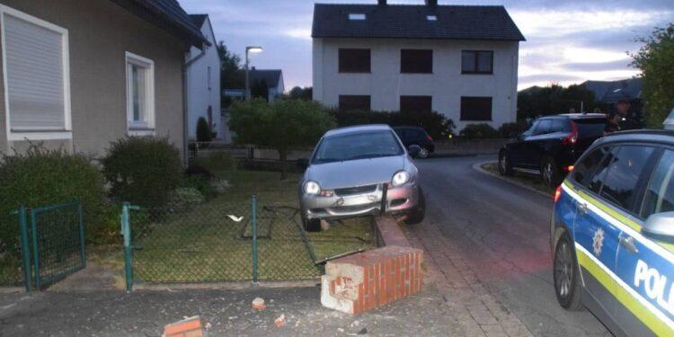 Autounfall Bünde 07.06.2020 - Unfallstelle