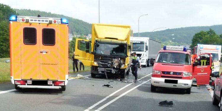 Autounfall Hüllhorst 12.06.2020