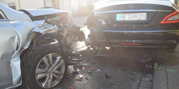 Autounfall Bünde 07.07.2020