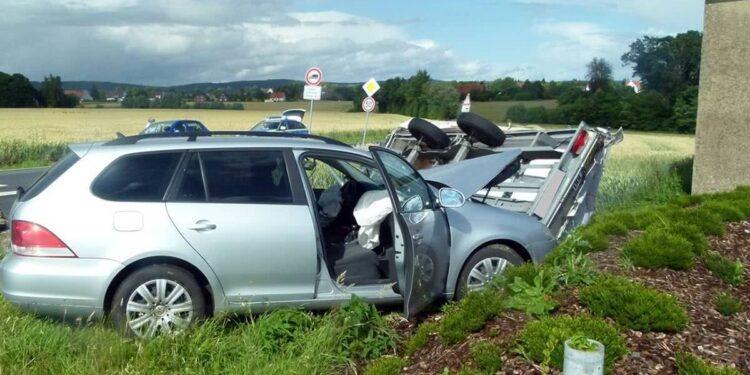Autounfall Hüllhorst 07.07.2020