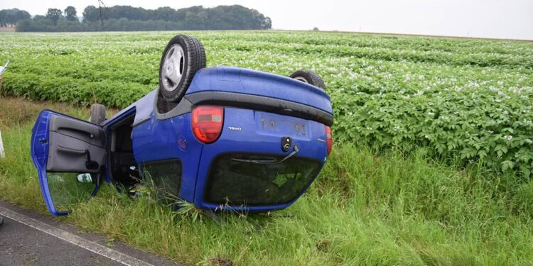 Autounfall Löhne 08.07.2020