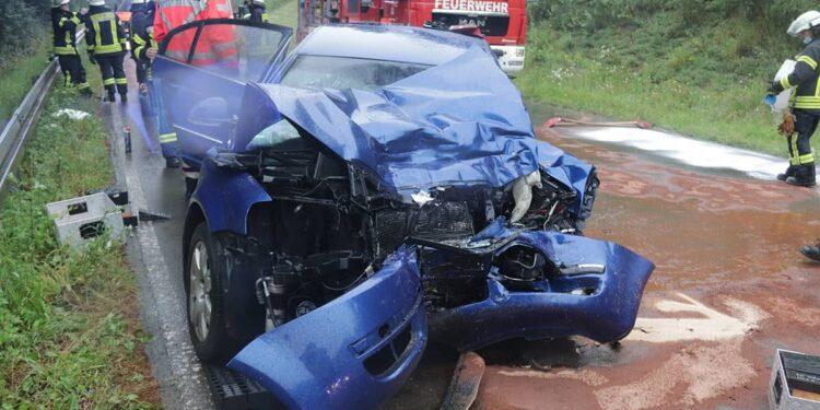 Bus Unfall Brakel 15.07.2020