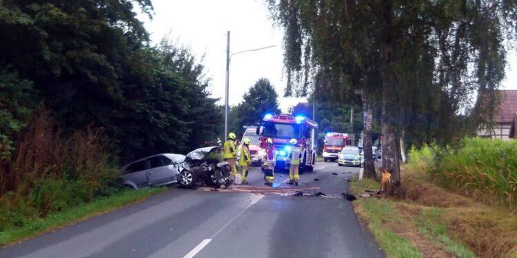 Autounfall Bad Oeynhausen 14.08.2020