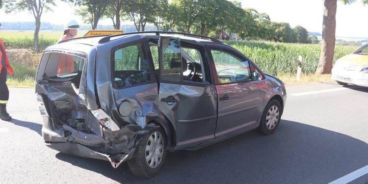 Autounfall Willebadessen 07.08.2020