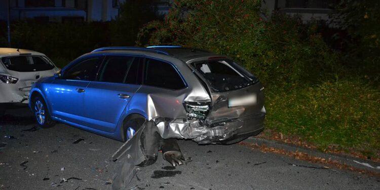 Autounfall Herford 13.09.2020