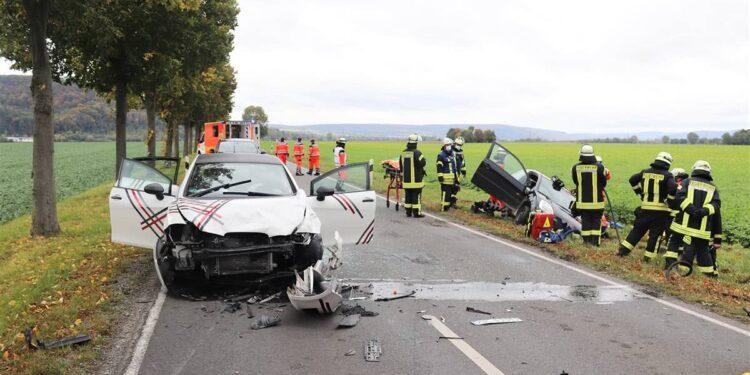 Autounfall Höxter 14.10.2020