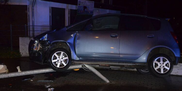 Autounfall Herford 28.12.2020
