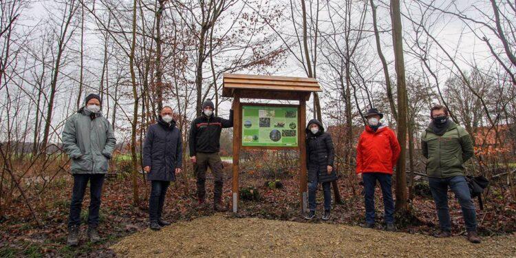 Infotafel Bexter Wald